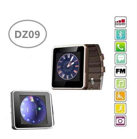 Smartwatch Dz09 Jam Tangan Sim Card Bluetooth smart dz09 sim card smartwatch for apple iphone 6s 5s for android samsung gear huawei etc