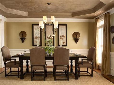 Dining Room Picture Ideas Neutral Colors For Living Room Neutral Dining Room With Tray Ceiling And White Crown Molding