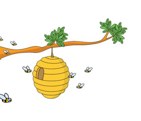 animated gifs clipart animals animated clipart bee hive animation 5c
