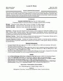 Retail Manager Resume Exles And Sles by Sle Resumes Retail Sales Management Resume