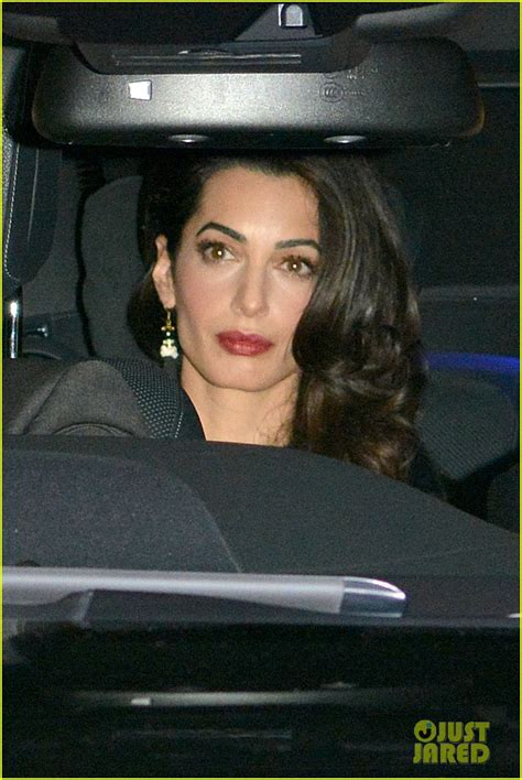 Full Sized Photo of george amal clooney wedding dinner 03