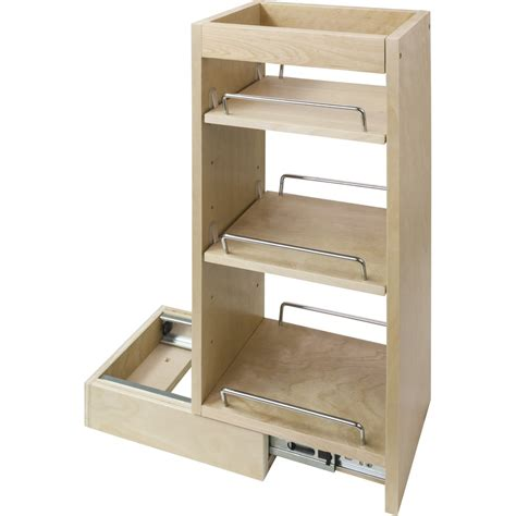 Wall Cabinet Pull Out Spice Rack Fits 9 Quot Wall Cabinet Pull Out Spice Racks For Cabinets