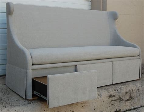 buy banquette seating buy desseault storage banquette sofas seating