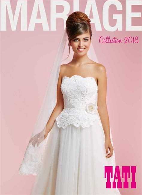 Tati Robe Cocktail Catalogue - tati mariage 2016 by le site du mariage issuu