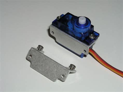 Brecket Mini Servo Kamera Breket 9g servo aluminum mounts