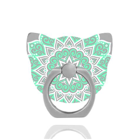 Ring Stand Original Handphone All Color universal mandala cat finger ring stand grip holder for all cell phone tosave