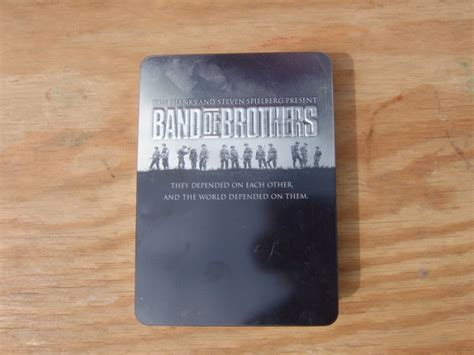 Band Of Brothers Dvd Box Set Collection Koleksi band of brothers 6 disc steel box collection for sale in