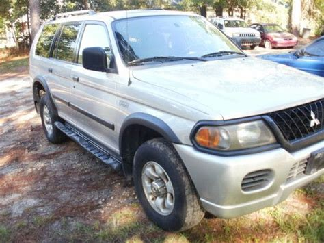 auto air conditioning repair 2002 mitsubishi montero sport on board diagnostic system sell used 2002 mitsubishi montero sport 4x4 in tallahassee florida united states