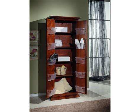 dispensa arte povera mobile armadio legno scarpiera 2 ante arte povera colore