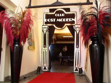 1920s themed decorations prom entrance idea for roaring 20s roaring twenties