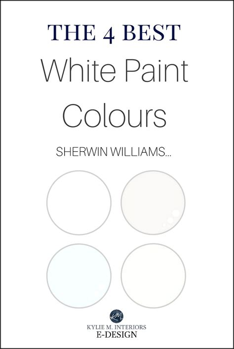 best sherwin williams white interior paint colors www