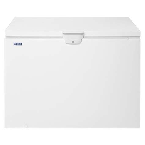maytag 14 8 cu ft chest freezer in white shop your way