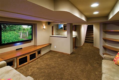 Moccasin Valley Basement Finished Basement Company Basement Home Theater