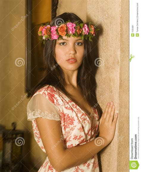 Traditional House Plans by Portrait Of A Young Polynesian Woman Stock Image Image