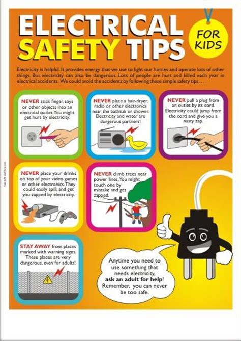 electricity learning 25 best ideas about safety posters on health