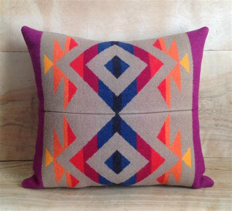 Pendleton Wool Pillows by Sale Pillow Pendleton Wool Fabric By Robincottage