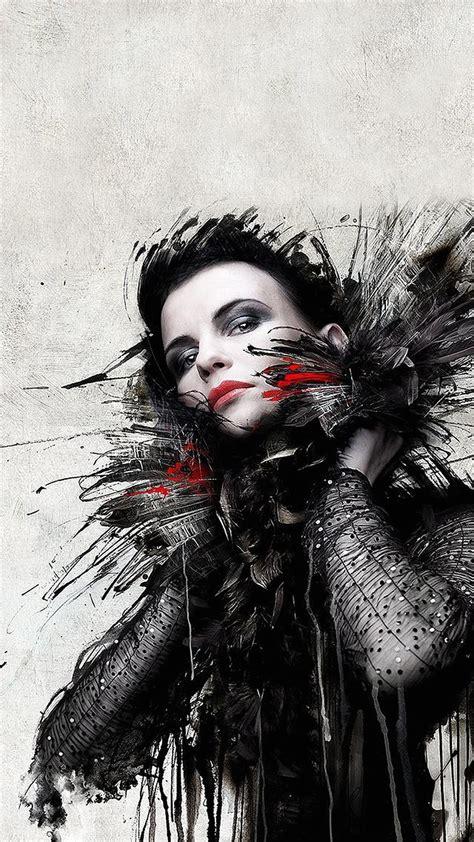 dark wallpaper portrait beautiful girl artwork best htc one wallpapers