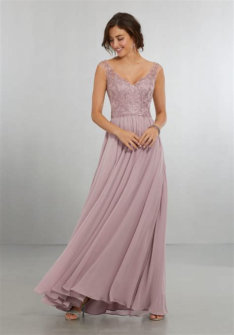 bridesmaid dresses with beaded tops chiffon bridesmaids dress with intricately embroidered and