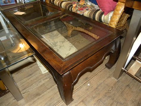 Glass Coffee Tables Glass Top Oak Coffee Table Coffee Ducks Unlimited Coffee Table