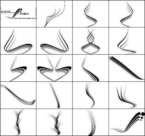photoshop brush pattern lines vector curves brush photoshop brushes in photoshop brushes