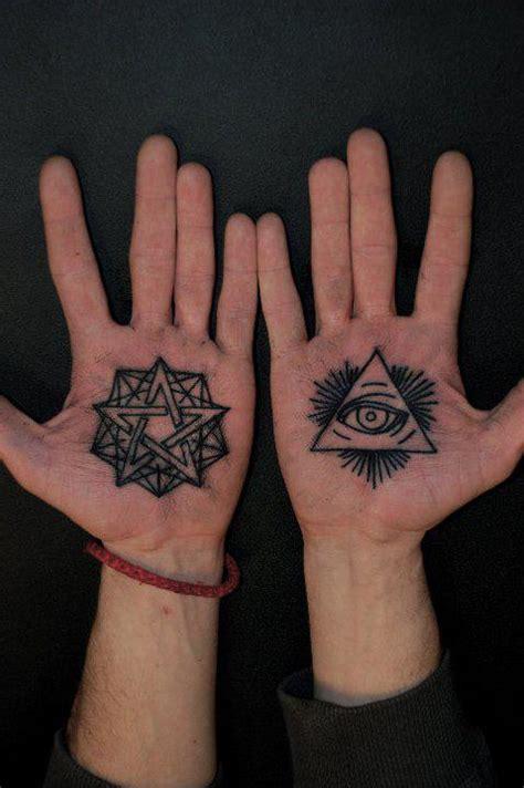 palm tattoos palm