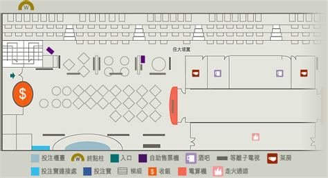 Club Floor Plan the hong kong jockey club