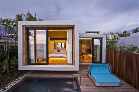 small contemporary house world of architecture small house on the beach by vaslab