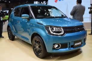 Suzuki Auto Suzuki Ignis World Premieres At The 2015 Tokyo Motor Show