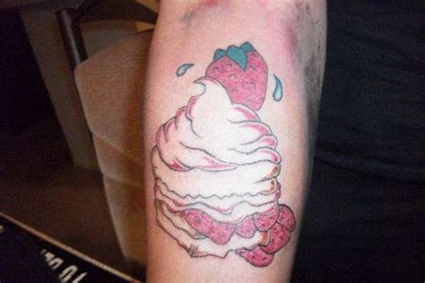 strawberry shortcake tattoo strawberry shortcake