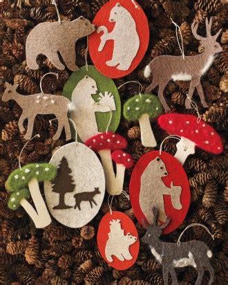Martha Stewart Ornaments Handmade - trees ornaments how to