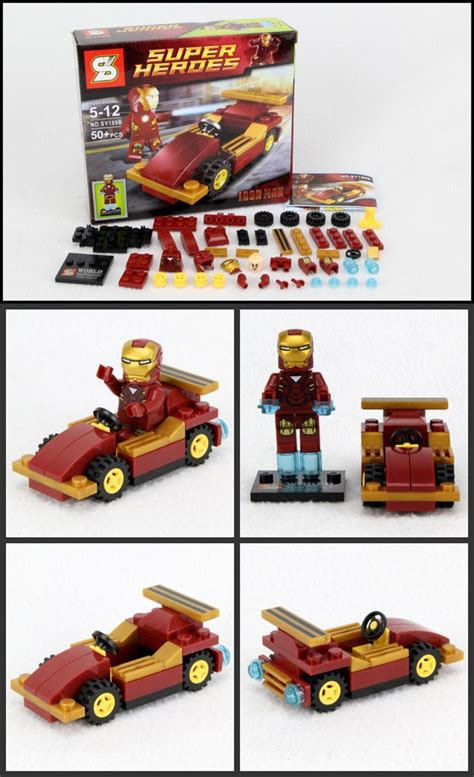 Sy New Lego Bat sy marvel heroes superman batman minifigures new ebay