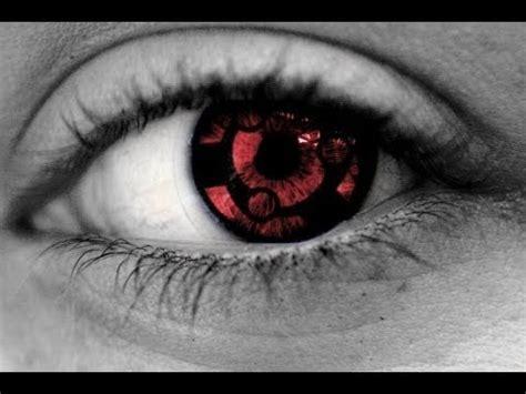 unboxing lentes de contacto eternal mangekyou sharingan