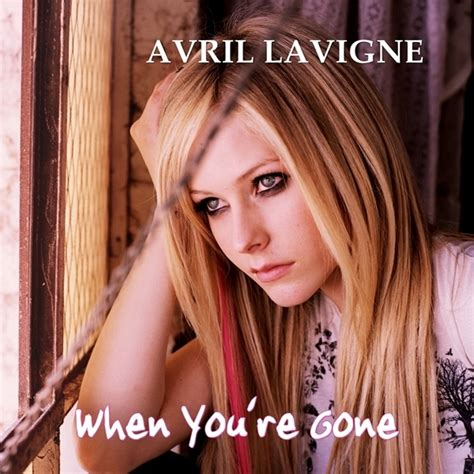 avril lavigne when youre gone official avril lavigne when you re gone my fanmade single cover