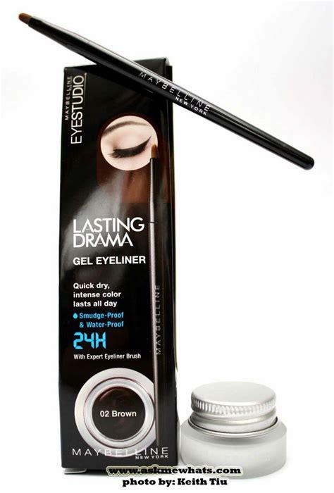 Maybelline Gel Eyeliner maybelline lasting drama gel eyeliner make up and skin