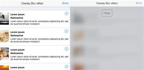 css tutorial overlay css3 tutorial come creare un effetto overlay ios 7 blur