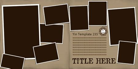 Digital Scrapbooking Tutorials Page 4 The Daily Digi Free Digital Scrapbooking Templates