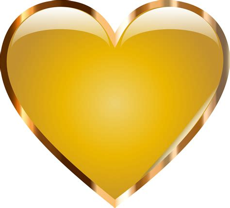gold images golden hearts clipart clipground