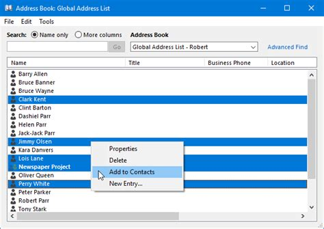 add global address list gal to contacts in outlook 2010 exporting the offline address book or gal msoutlook info