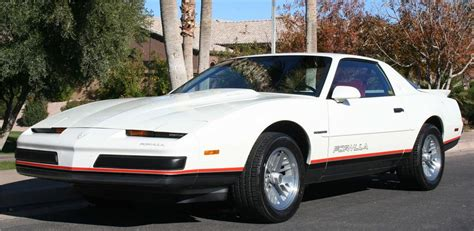 1988 pontiac firebird formula 2 door coupe
