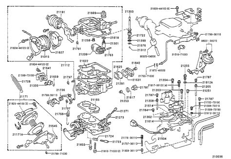 toyota hiluxyn110l crmdsw tool engine fuel carburetor