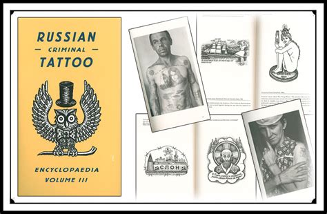 tattoo books russian criminal tattoo encyclopedia vol 3
