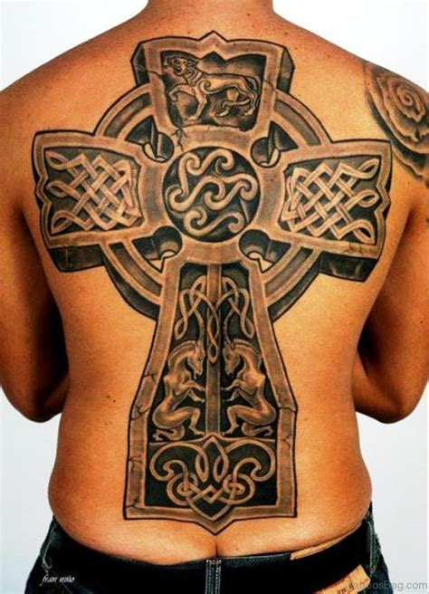 celtic cross tattoos on back 100 outstanding celtic tattoos for back