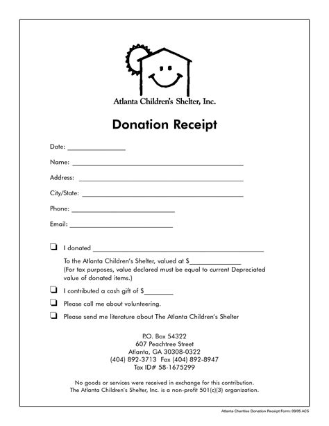 501c3 vehicle donation receipt template non profit donation receipt template receipt template