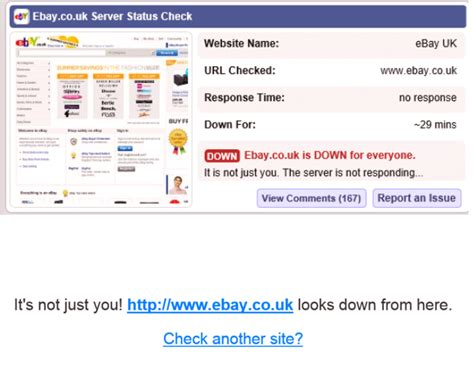 Ebay Down | ebay down www ebay co uk chameleon web services