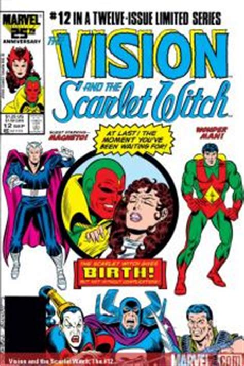 Vision And The Scarlet Witch Tpb 2005 Marvel vision and the scarlet witch 1985 1986 comic books