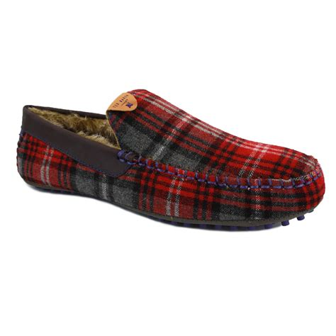 slippers mens ted baker carota 2 9 11958 mens slip on textile slippers