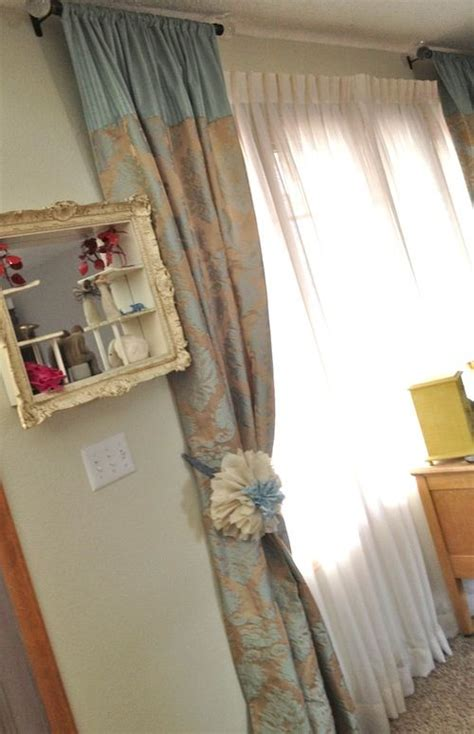 short curtain rods either side window 17 best images about curtains pelmets on pinterest