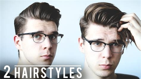 2017 Hairstyles For Tutorial by Hairstyles With Glasses Fade Haircut