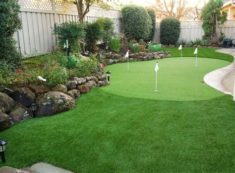 backyard putting greens how backyard golf greens may empower professionals in the