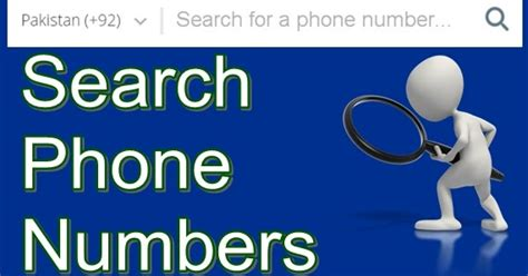 Search By Mobile Numbers 5 Ways To Find Details About Unknown Mobile Numbers Pakistan Hotline